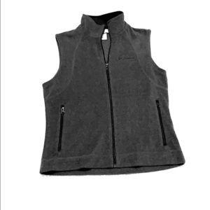 Columbia Sportswear Grey Vest Sz M